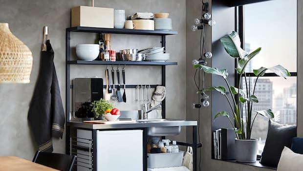 Mini cucina Ikea RÅVAROR - Foto by Ikea