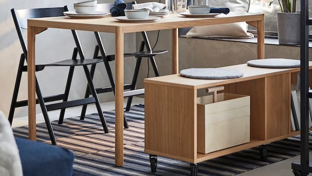 Tavolo per 4 persone RÅVAROR - Foto by Ikea