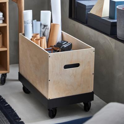 Carrello con contenitore RÅVAROR - Foto by Ikea
