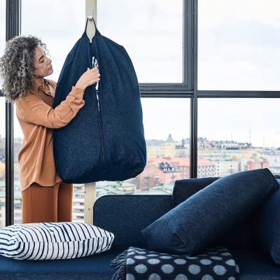 Sacca per lenzuola e cuscini RÅVAROR - Foto by Ikea