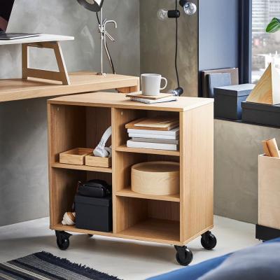 Scaffale con rotelle e 5 scomparti RÅVAROR - Foto by Ikea