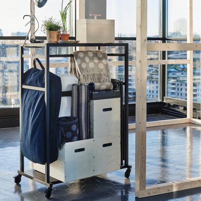 Scaffale mobile RÅVAROR - Foto by Ikea