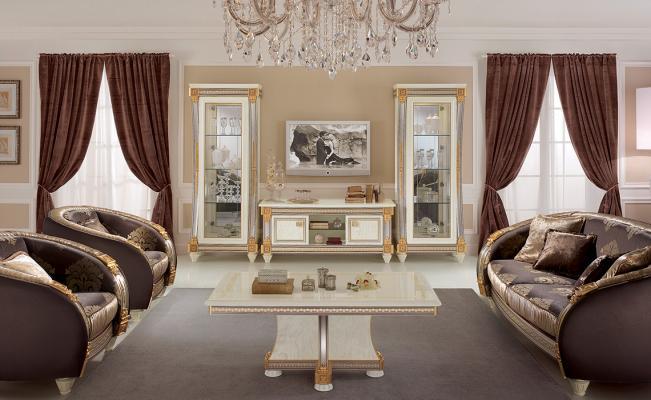 Salotto in stile Jugendstil - Foto by Arredoclassic