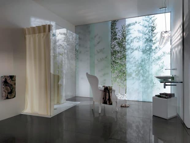 Tenda doccia, design Samo