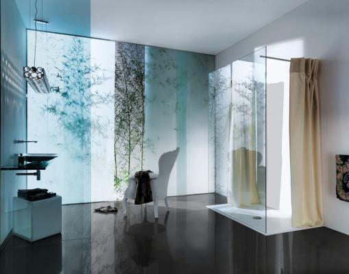 Tenda da bagno, design Samo