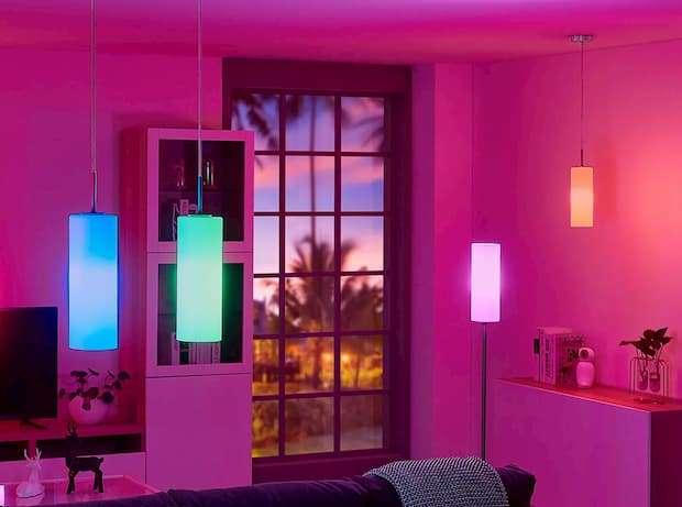 Lampada cambia colore, lampade.it, modello Felice
