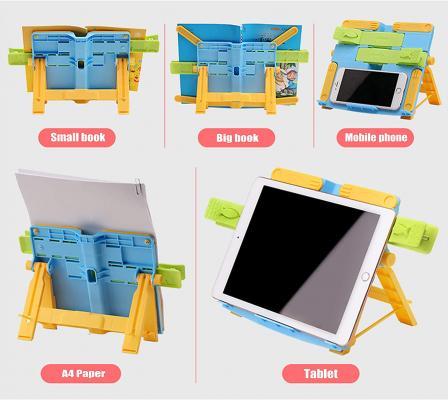 Leggio da tavolo per bambini pieghevole e colorato di YAVO-EU su Amazon