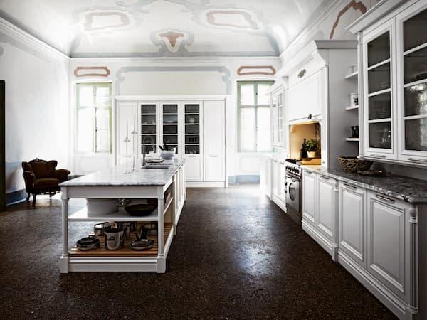 Cucina bianca classica Elite di Cesar