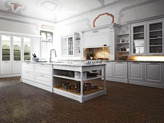 Lo stile di una cucina bianca può essere classico o contemporaneo