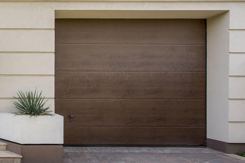Portone garage effetto legno di Sistema Facile