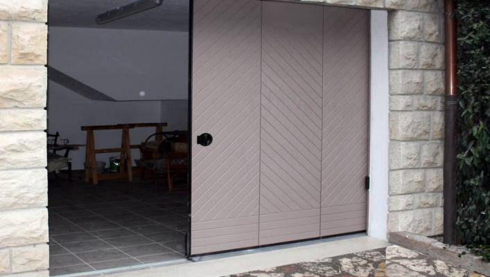 Portone garage scorrimento laterale di Sistema Facile