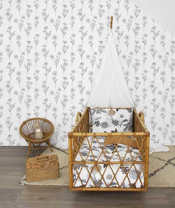 Camera da letto shabby per bambine - Lilipinso - Camomille
