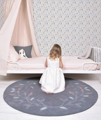 Camera da letto shabby per bambine - Carta da parati Lilipinso