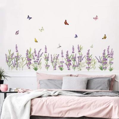 Camera da letto shabby per bambine - Decalmile - Stickers murale