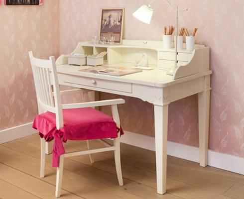 Camera da letto shabby per bambine - Minacciolo - Scrittoio English Mood