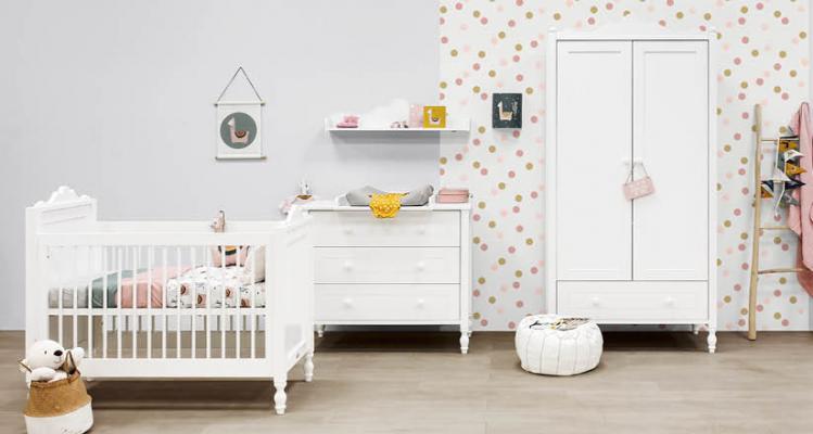Camera da letto shabby per neonati - Bopita - Belle