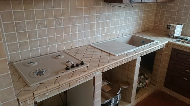 Sistemare fornelli e lavello, da Costruisci & Ripara con Fabio