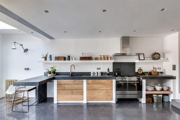 Cucina in muratura moderna, da superdom.ua
