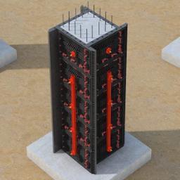 Casseri per strutture in calcestruzzo armato