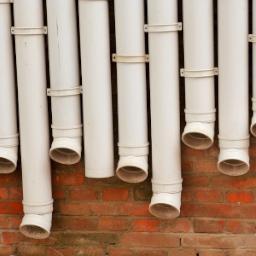 Tubazioni in materiale plastico per pluviali