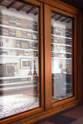 Porta finestra in legno - PB Finestre