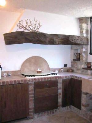 Taverna cucina muratura C&C Caminetti