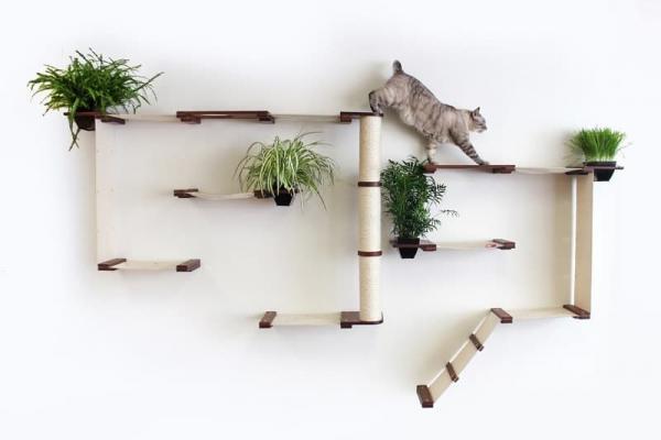 Percorsi a più piani per gatti, da hauspanther.com