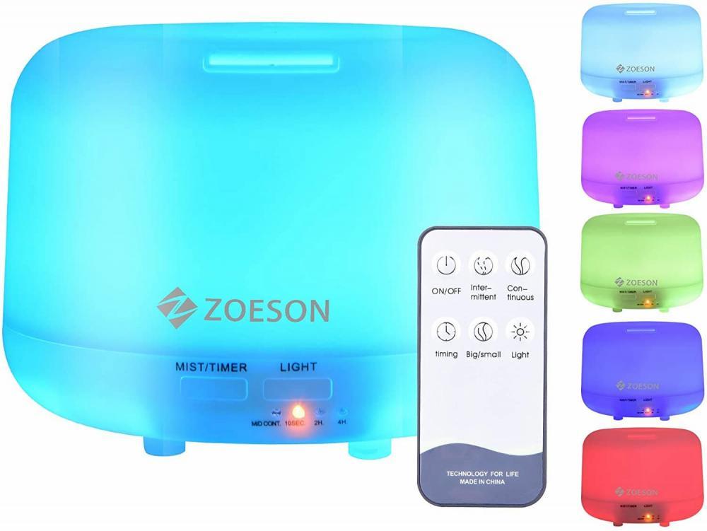 Diffusore di oli essenziali Zoeson, su Amazon