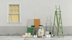 Tante soluzioni di pittura per esterni