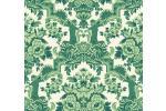 Tessuto Damasco dettaglio carta parati Cole&Son verde
