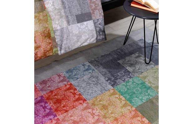 Tessuto Jacquard tappeto Fenice Caleffi