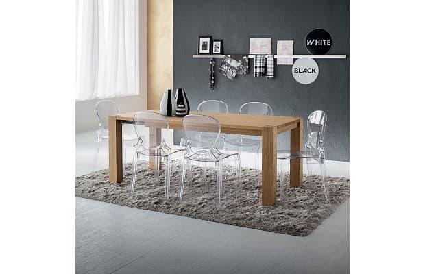 Salotto moderno tavolo Bradley di Diotti