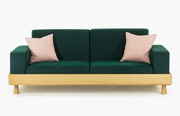 Salotto moderno divano trasformabile Meda di BertO
