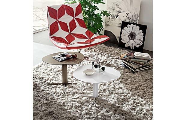 Salotto moderno tavolino Tonks di Diotti