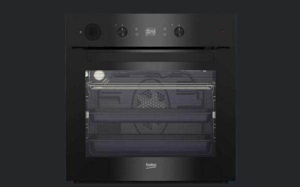 Il forno ad incasso Beko, funzionale quanto elegante nelle sue semplici linee.