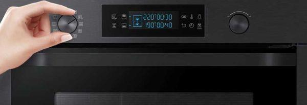 Il forno dual cook flex Samsung ha tante funzioni ma un facilissimo utilizzo.