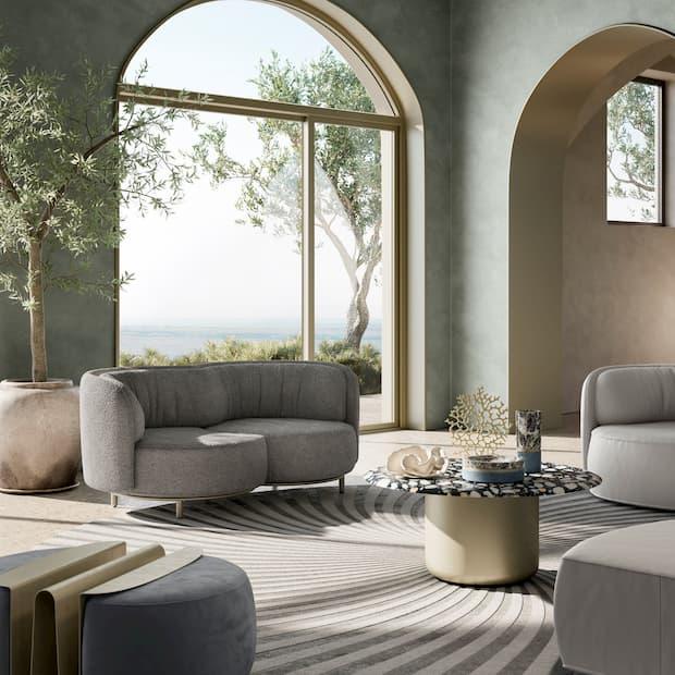 Living design divano Natuzzi