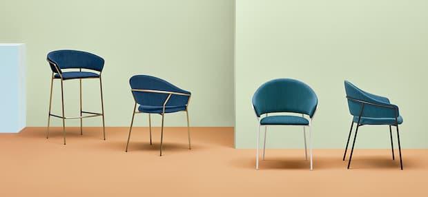 Living design Sedia Jazz by Pedrali