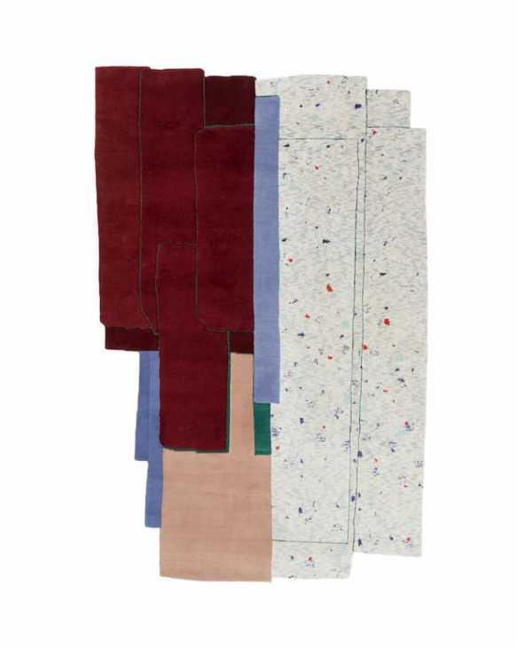 Tendenze arredamento 2020 Patcha tappeti by Patricia Urquiola