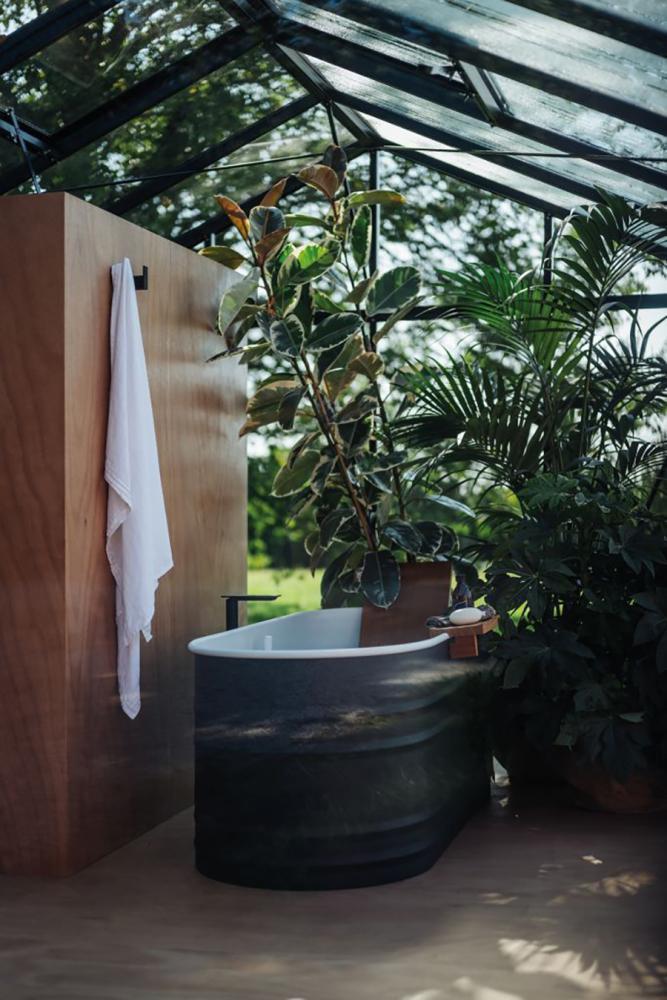 Vasca da bagno da esterno Agape
