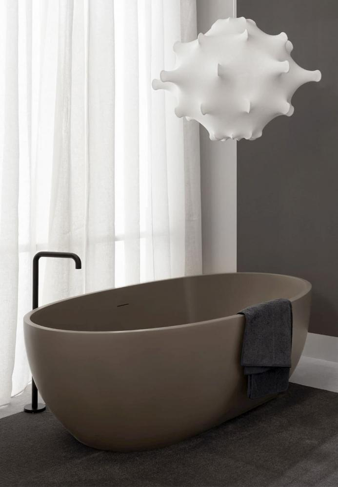 Vasca da bagno freestanding in living tec arenaria Ceramica Cielo