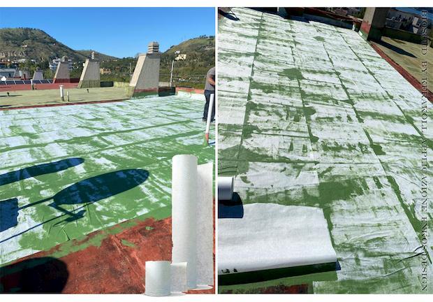 Impermeabilizzazione tetto piano bioscud by kerakoll