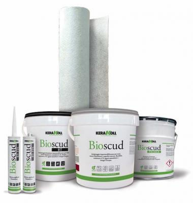 Kit impermeabilizzazione tetto bioscud kerakoll
