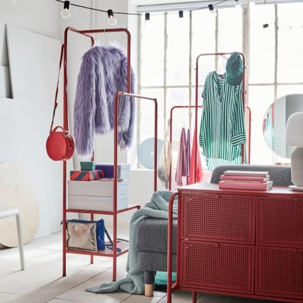 Stand appendiabiti IKEA modello NIKKEBY