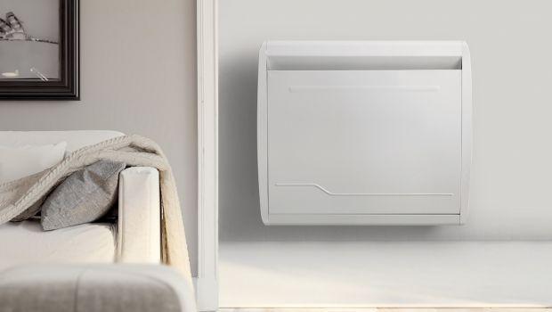 Riscaldamento elettrico a parete con i radiatori wi-fi
