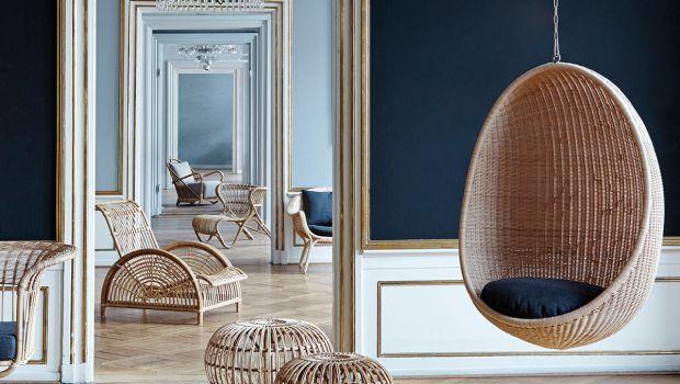 Vivere momenti di relax con la sedia sospesa da interno