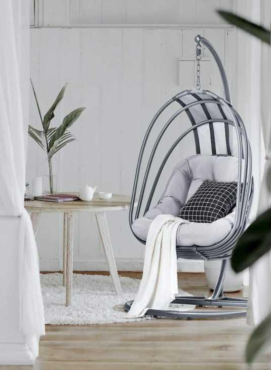 Indoor hanging chair Mercury model - Amazon
