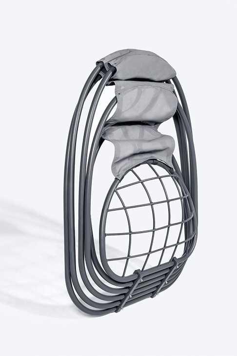 Indoor hanging chair Mercury-locking system