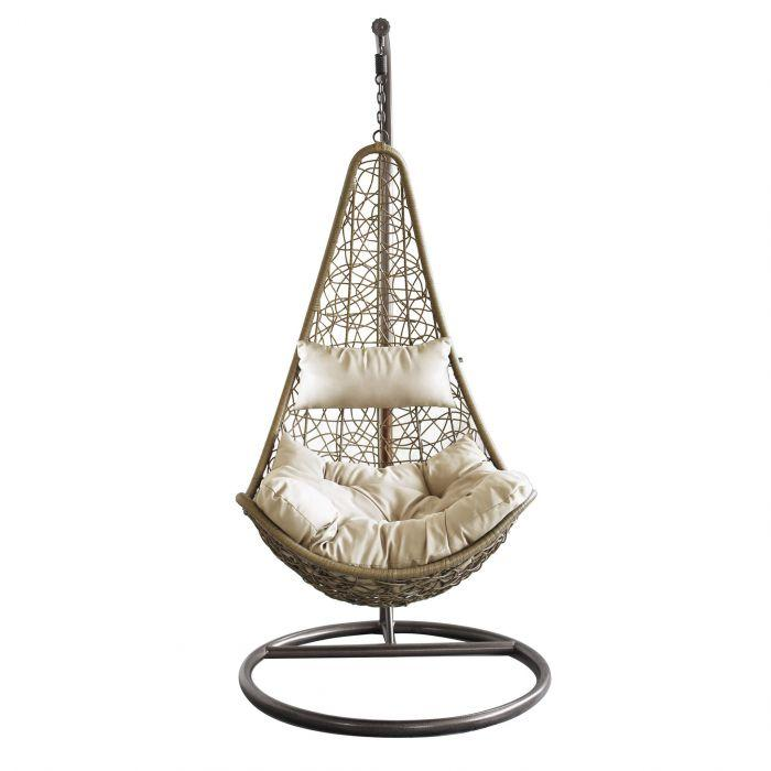 Jacklin indoor hanging chair by Milani Home