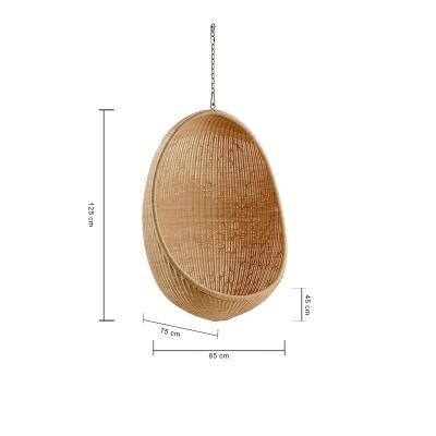 Sedia sospesa in rattan dimensioni di Sika Design®